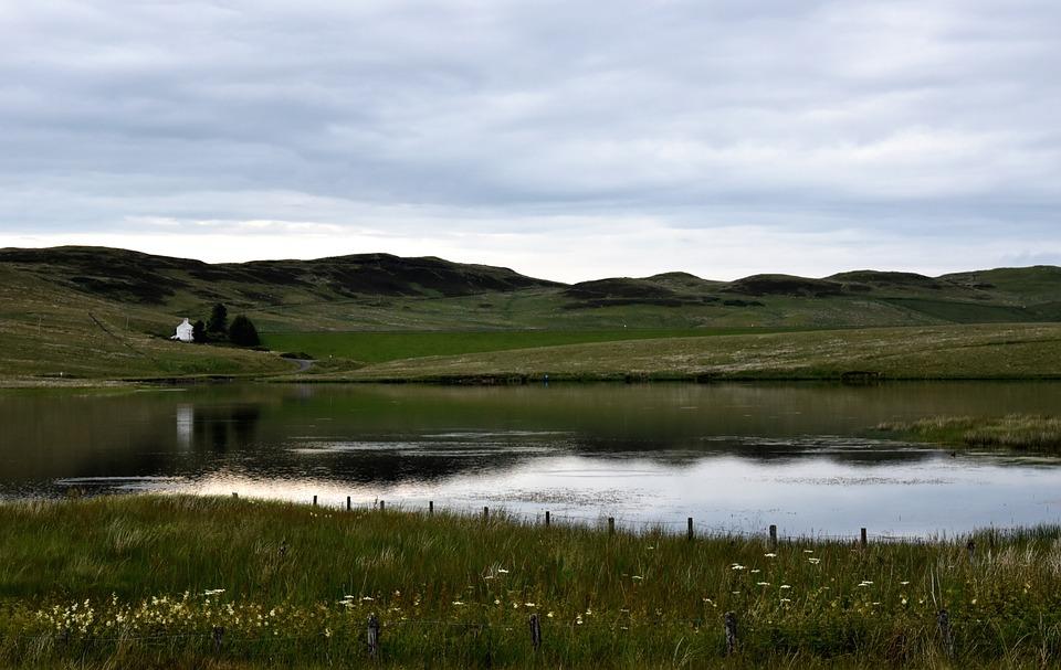 Lake, Loch, Countryside, Hills, Scotland, Water