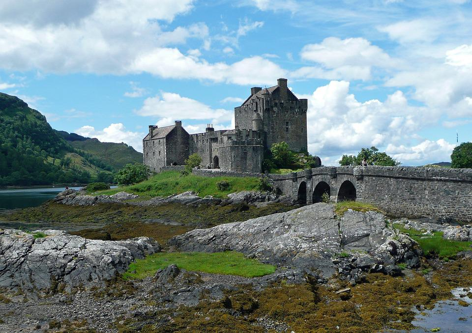Eilean Donan Castle, Scotland, Castle, Masonry