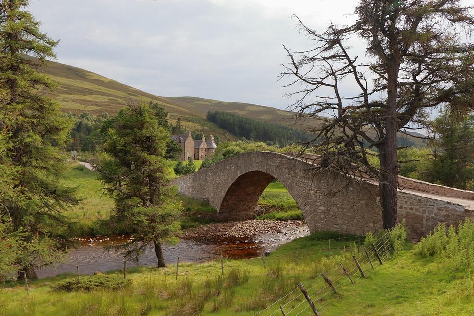 Scotland, Bridge, Landscape, Stone Bridge