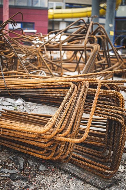 Metal, Scrap, Steel, Construction, Building, Junkyard