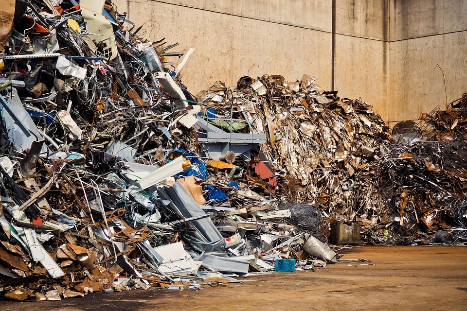 Free photo Scrap Junkyard Waste Recycling Old Metal - Max Pixel
