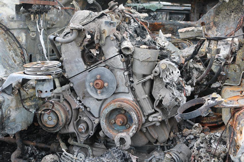 Free photo Scrap Motor Junkyard Stainless Old Machines - Max Pixel