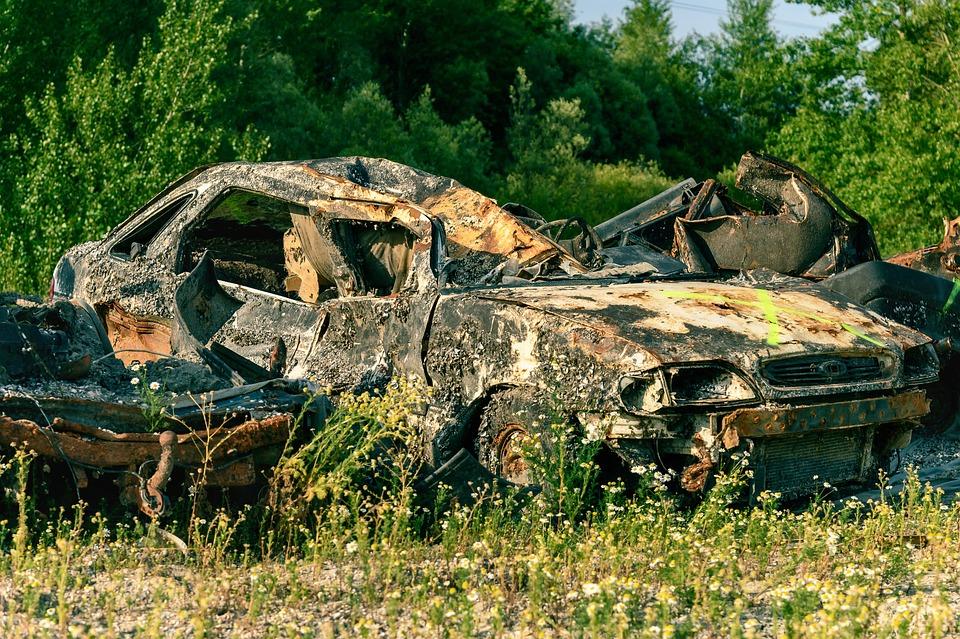 Pkw, Scrap, Wreck, Junkyard, Rust, Rusted, Nostalgia