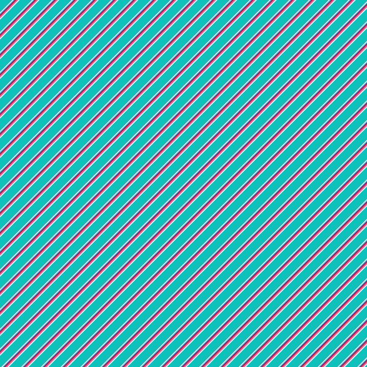 Turquoise, Diagonal, Stripes, Background, Scrapbook