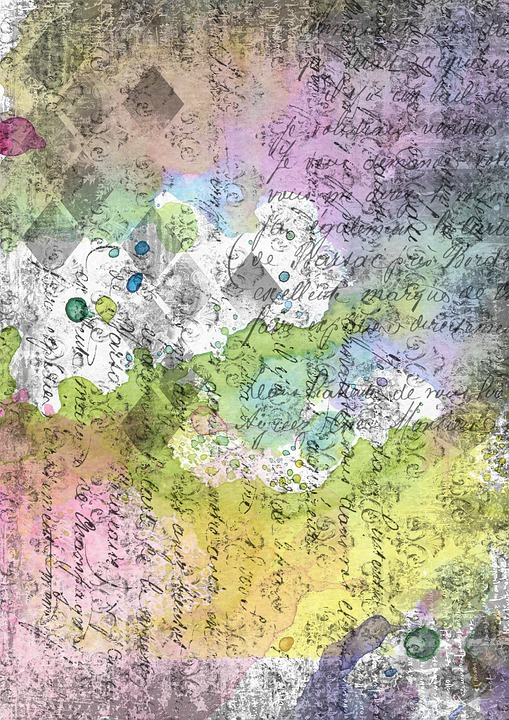 Scrapbooking, Watercolor, Background Image, Background