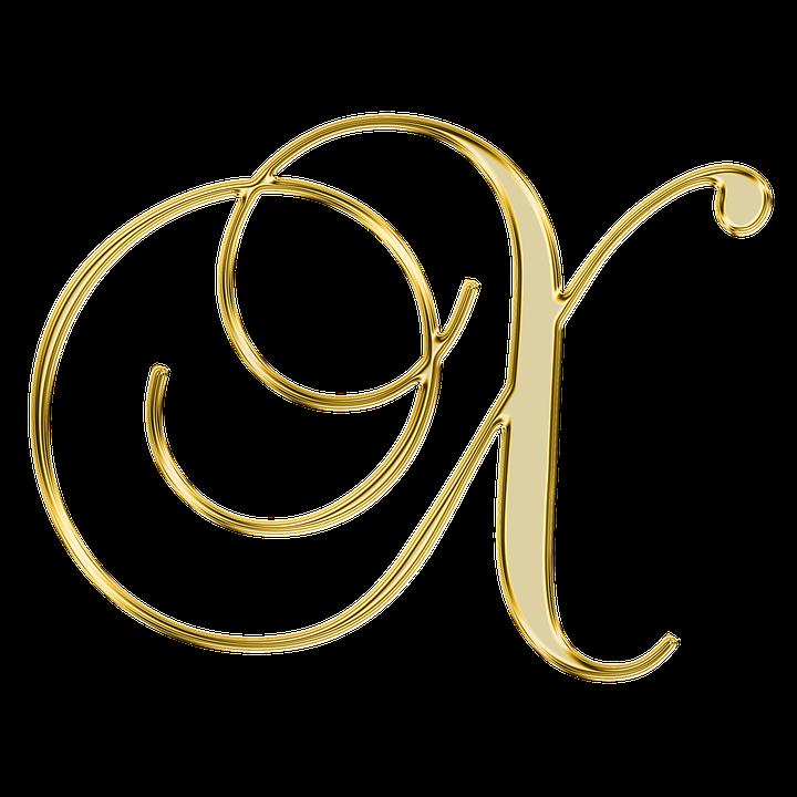Alphabet, Letter, Initial, Background, Scrapbooking, X
