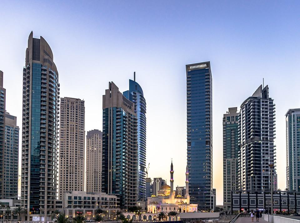 Dubai, City, Architecture, Sky, Building, Scraper
