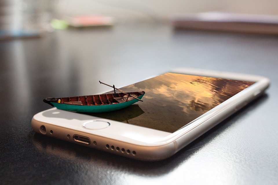 Mobile Phone, Smartphone, 3d, Manipulation, Screen, App