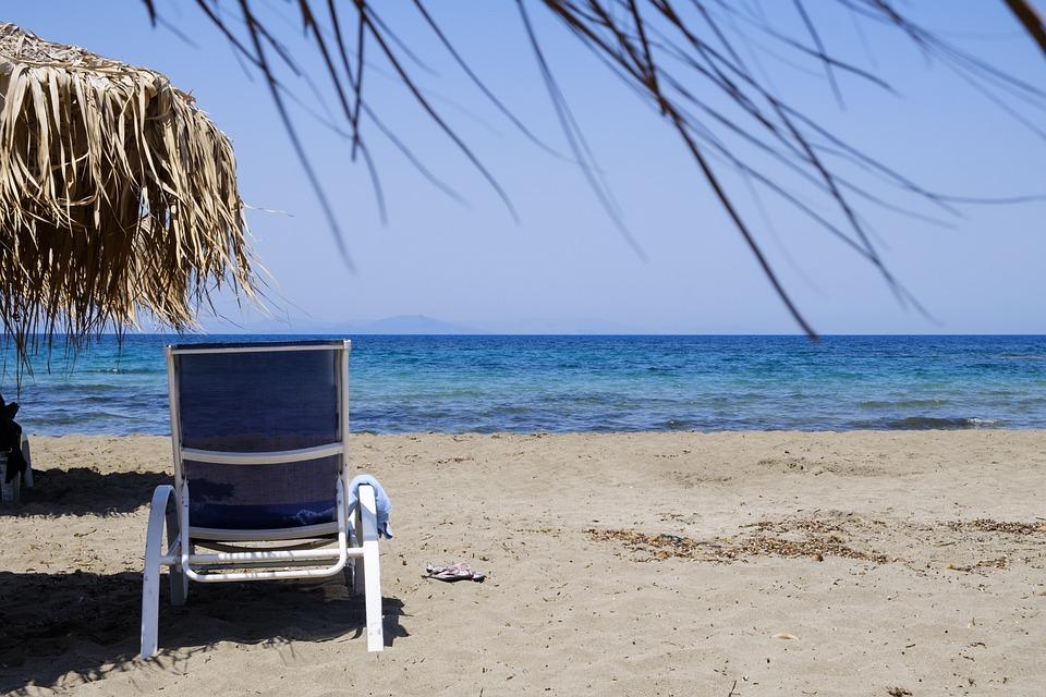 Beach, Water, Parasol, Screen, Deck Chair, Sand, Summer
