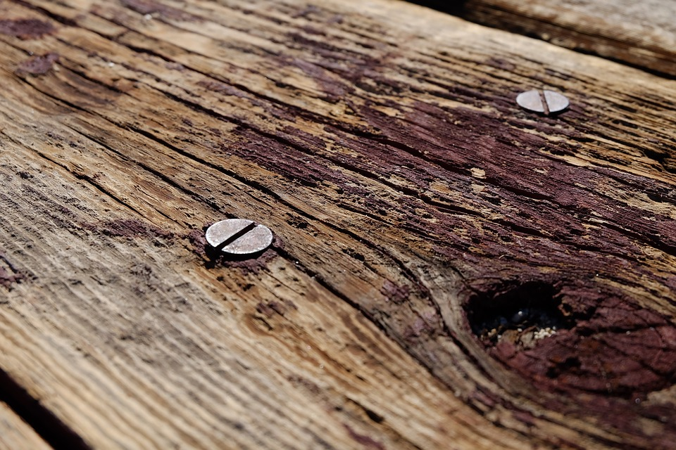 Wood, Screws, Picnic Table, Table, Wooden, Woodwork