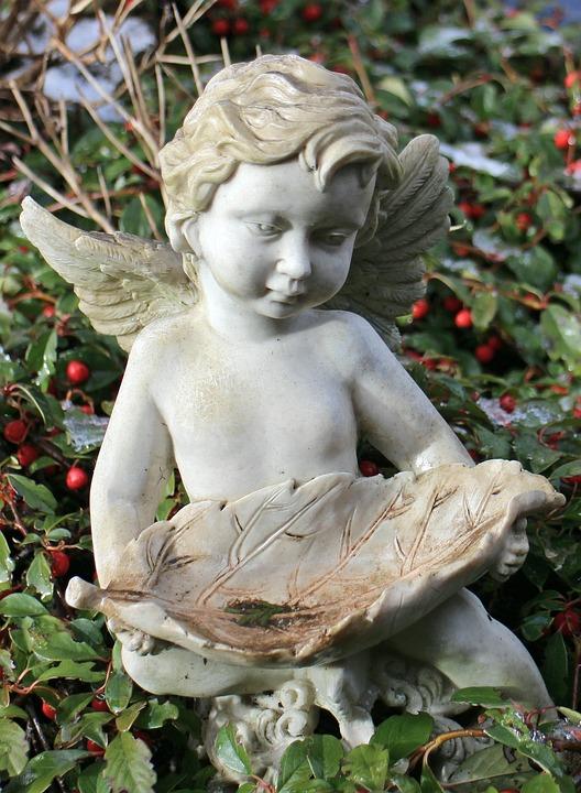 Angel, Sculpture, Fig, Symbol, Angel Figure