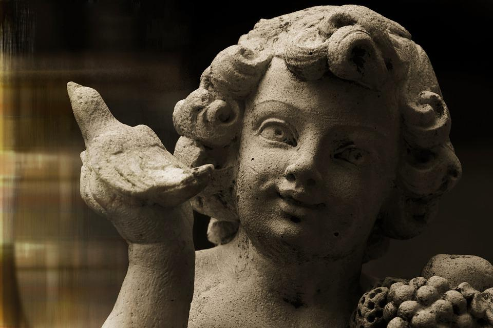 Cherub, Figure, Angel, Sculpture, Decoration, Art