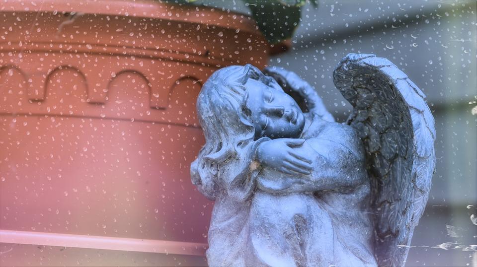 Angel, Angels, Statue, Figure, Sculpture, Wing, Fantasy