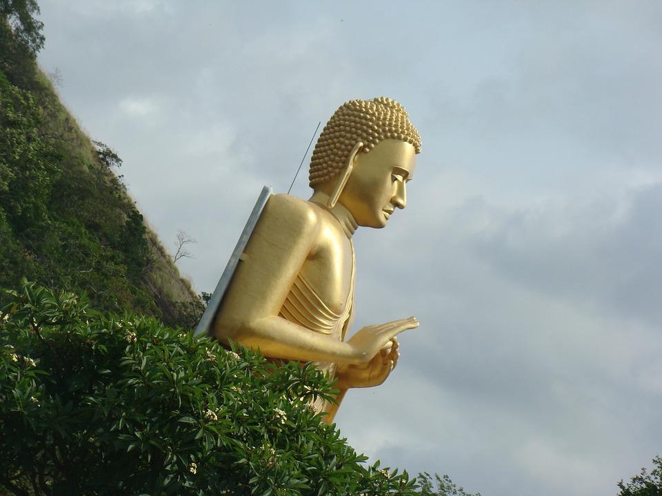 Buddha, Zen, Buddhism, Sculpture, Monument, Statue