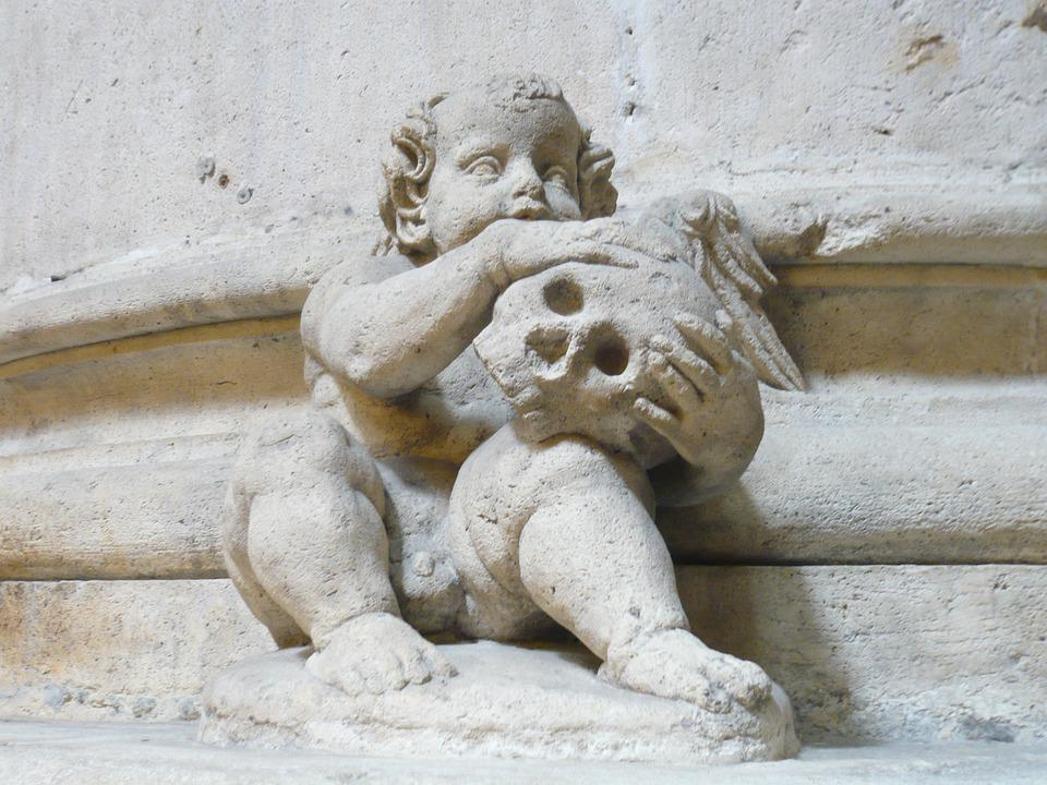 Angel, Sculpture, Death