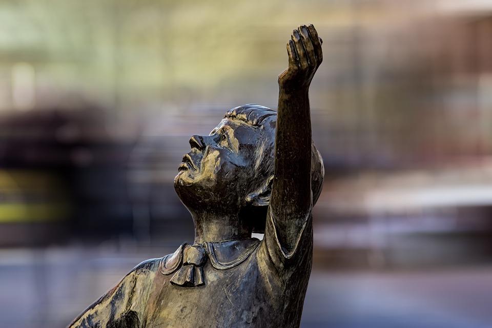 Statue, Fig, Sculpture, Tiefenschärfe