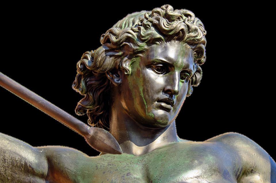 Sculpture, Bronze, Woman, Amazone, Artwork, Fighter
