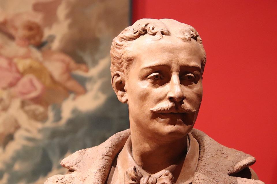 Sculpture, Statue, Bronze, Brown, Figure, Man