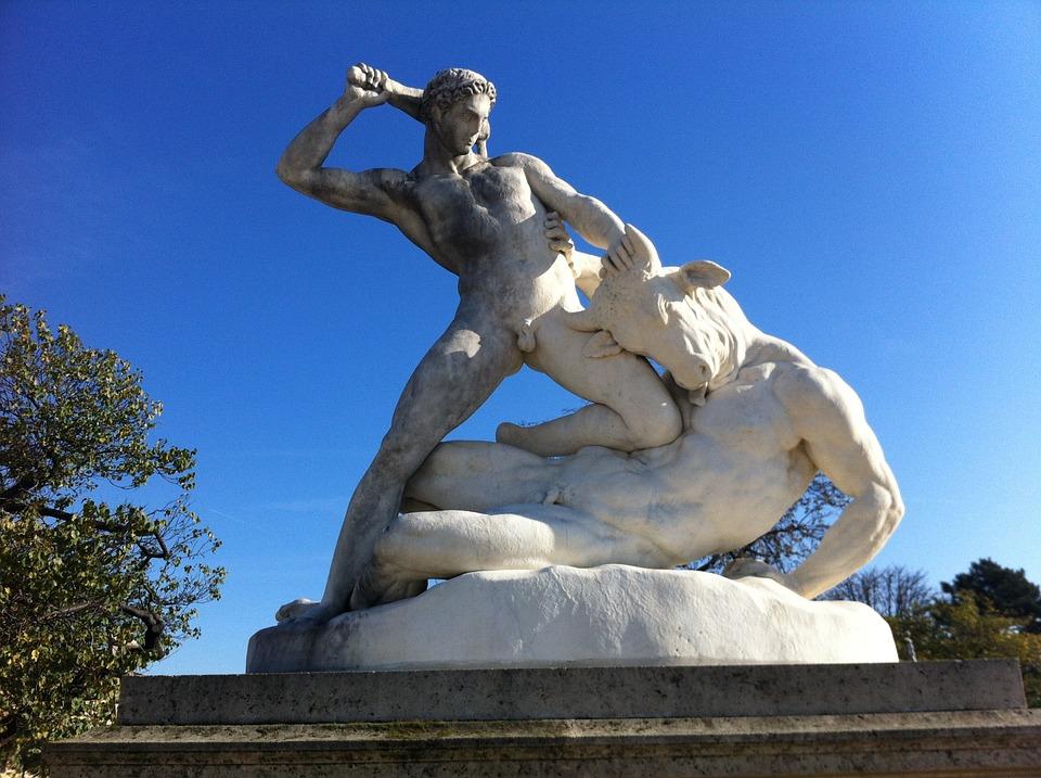 Paris, Sculpture, French