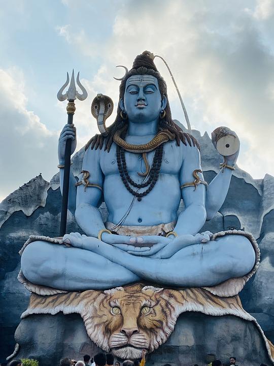 Shiva, Statue, Galteshwar Mahadev, Sculpture, God