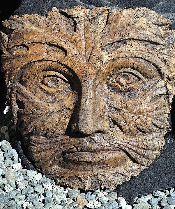 Statue, Face, Garden Statue, Sculpture, Head, Stone