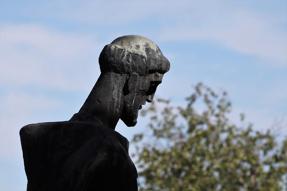 Monk Monument, Statue, Sculpture, Man, Figure