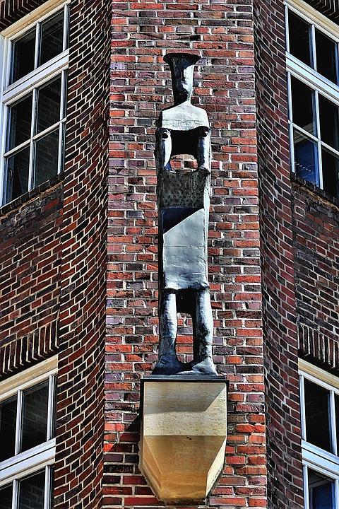 Sculpture, Figure, Art, Modern, Statue, Hamburg