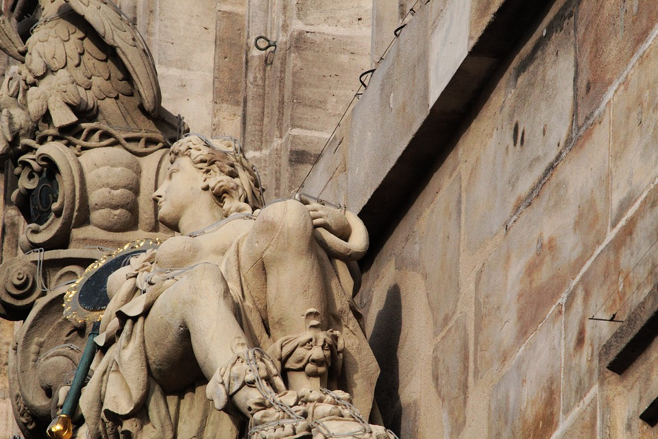 Nuremberg, Stone Figure, Sculpture, Art, Figure