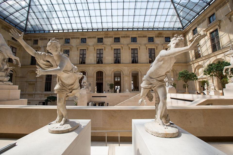 Paris, The Louvre, Sculpture
