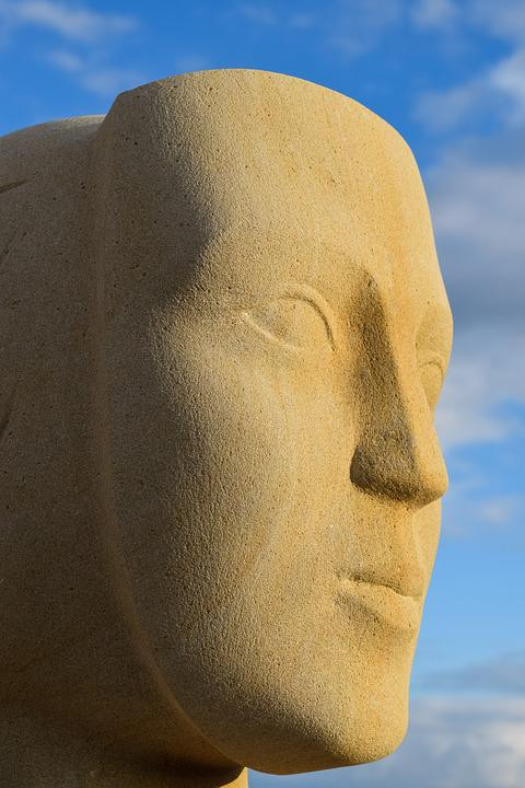 Face, Woman, Cyprus, Ayia Napa, Sculpture Park, Art