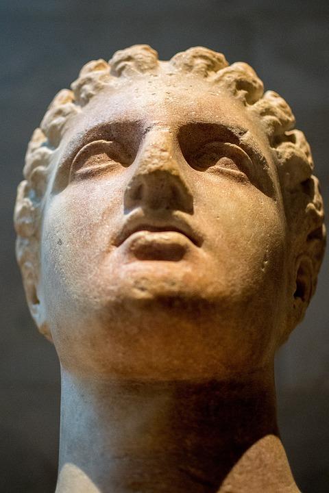 Sculpture, Portrait, People, Man, Adult, Ancient