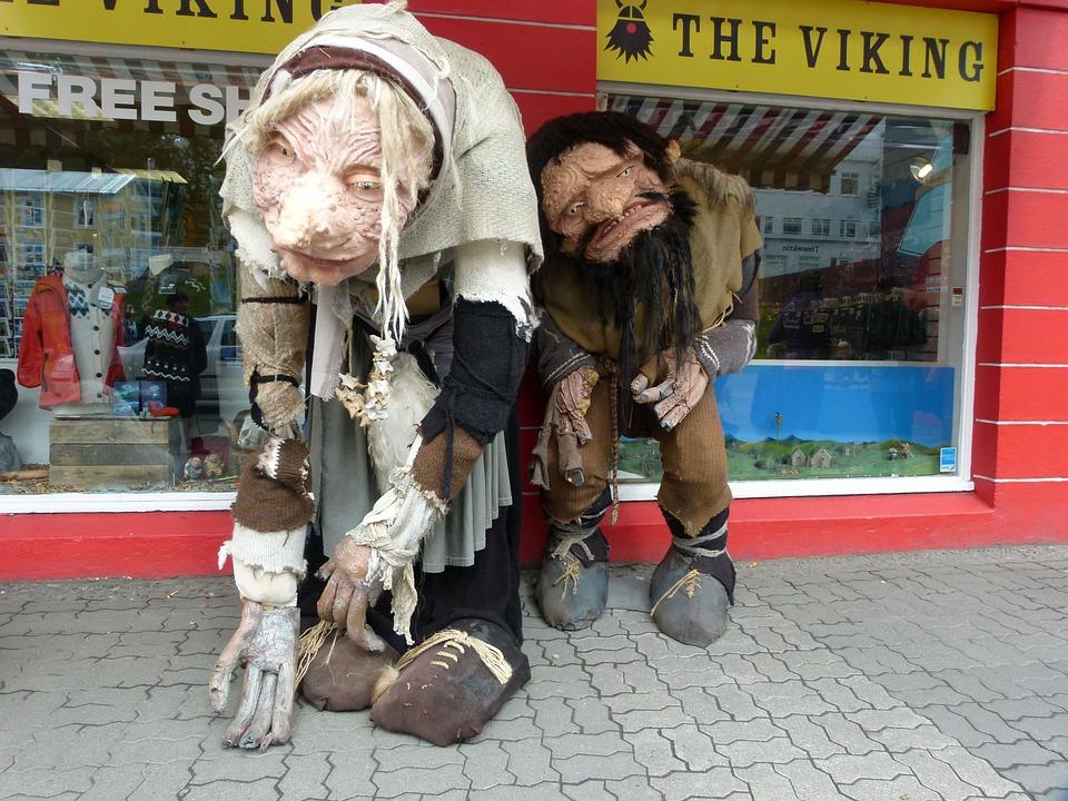 Control, Sculpture, Humor, Iceland, Reykjavik
