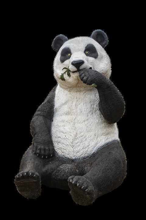 Statue, Animal, Sculpture, Panda Bear