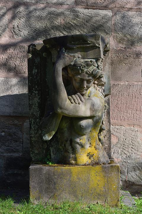 Sculpture, Art, Stone Figure, Monument, Historically