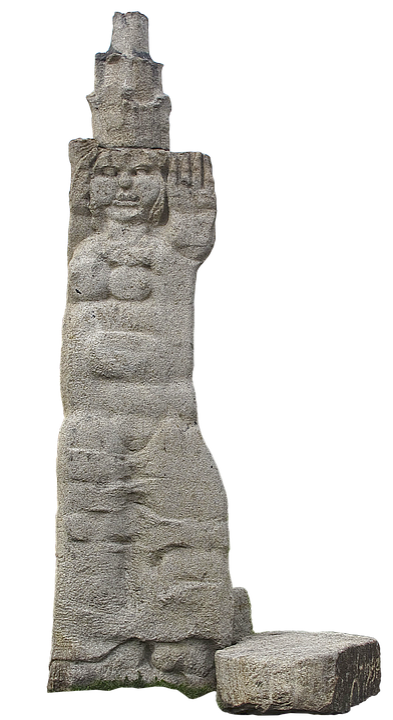 Statue, Woman, Stone Figure, Sculpture, Stone Statue