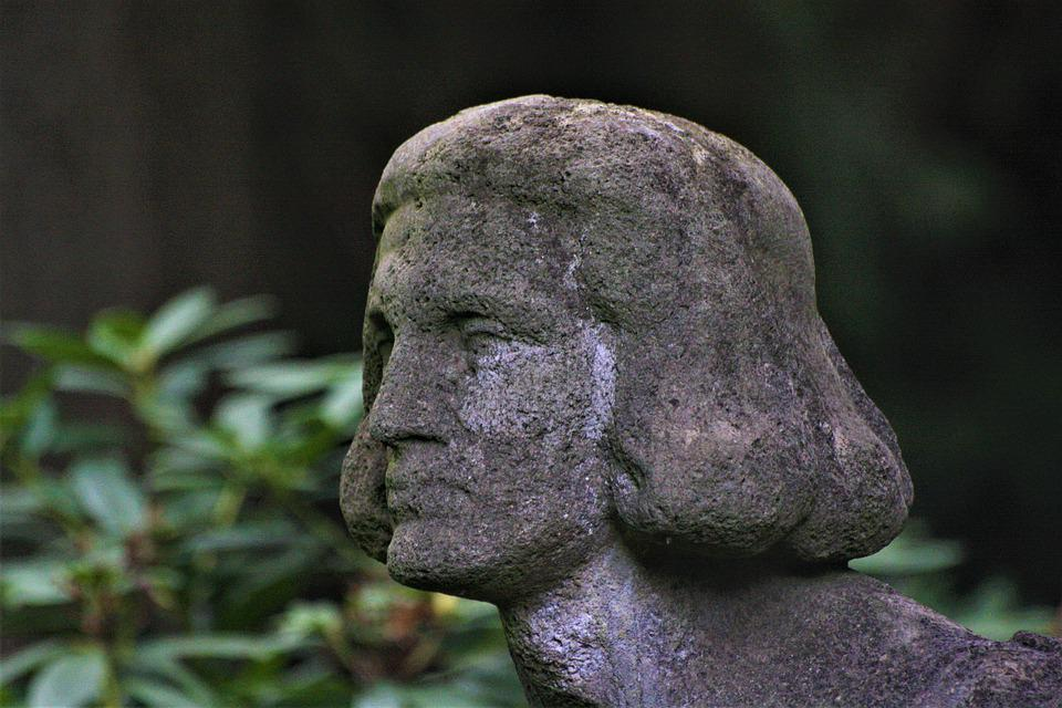 Prince, Rock Carving, Angel, Sculpture, Tomb