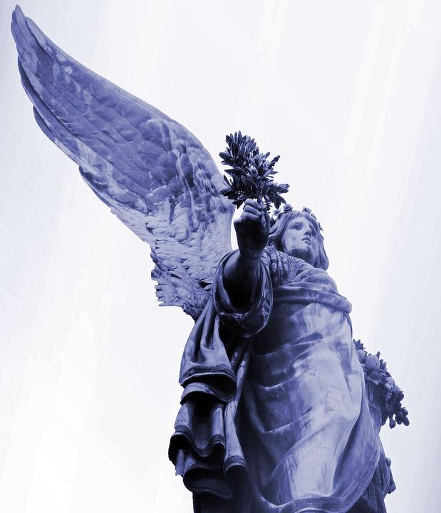 Symbol, Angel, Fig, Sculpture, Wing, Statue, Memory