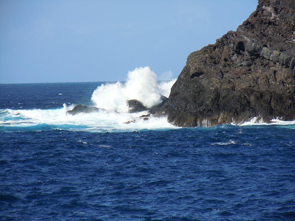 Ocean, Espane, Tenerife, Sea, Rock, Scum, Wave