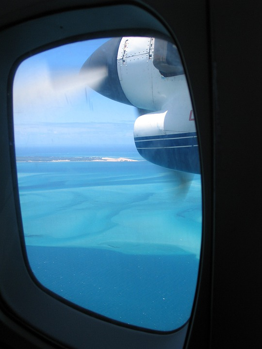 Flying, Bazaruto, Island, Porthole, Scuttle