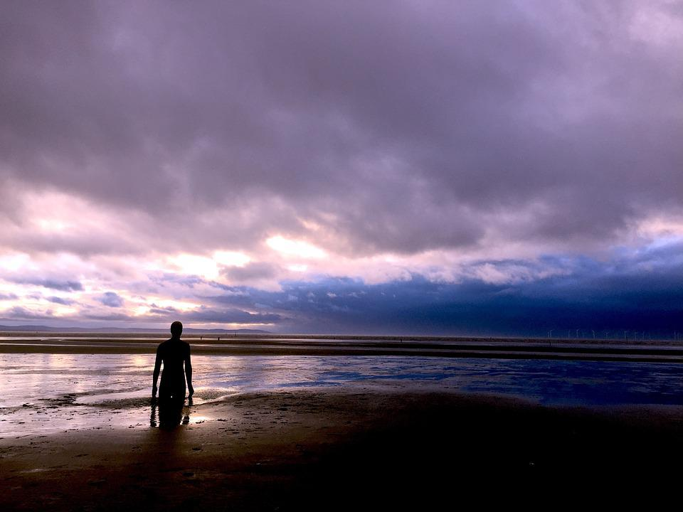 North West, Crosby, Another Place, Water, Beach, Sea