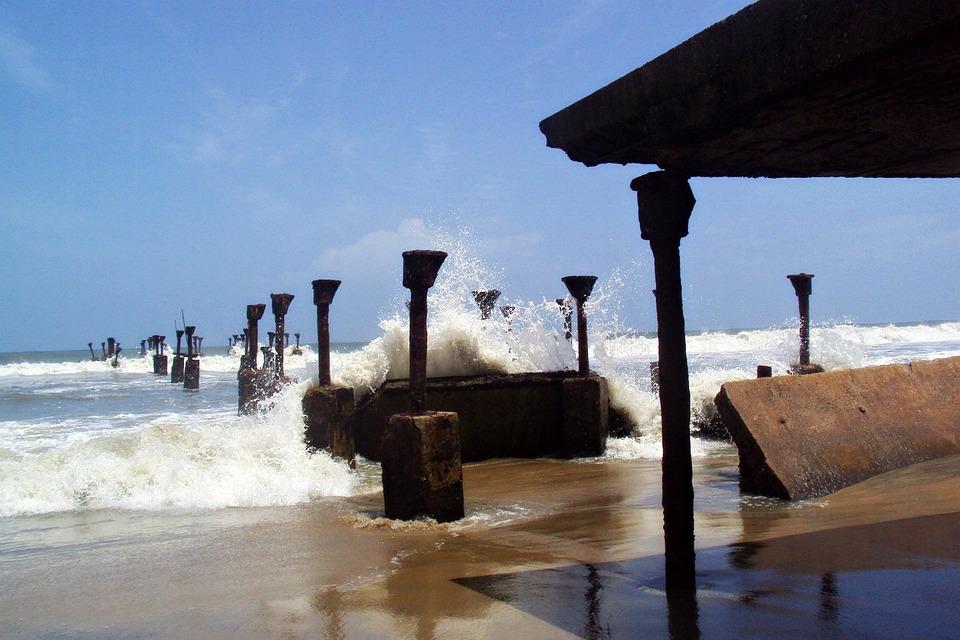 Beach, Sea, Arabian Sea, Arabian, Waves, Splash