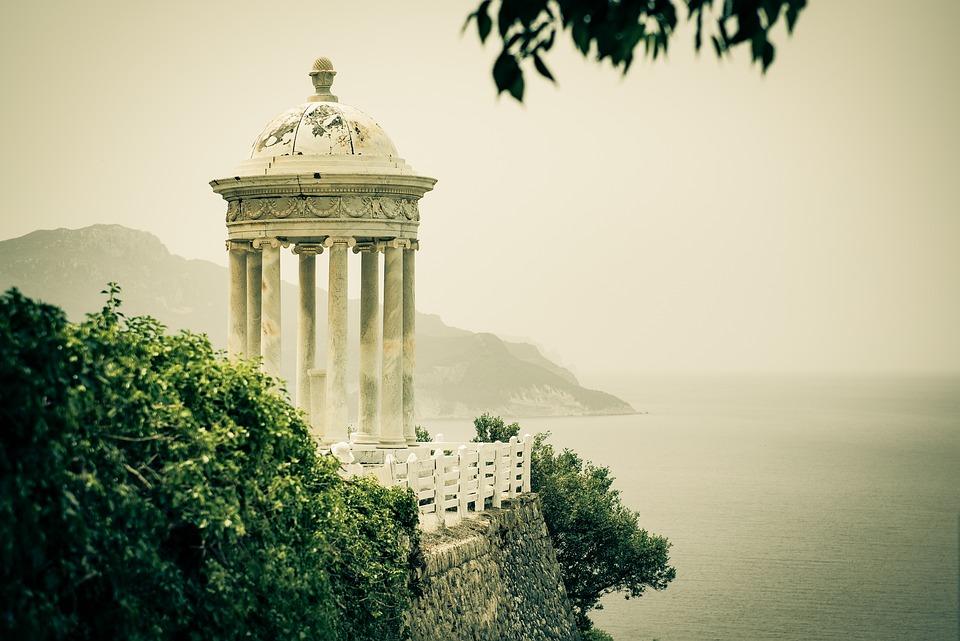 Mallorca, Sonmarroig, Architecture, Travel, Sea
