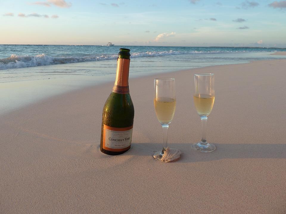 Sea, Champagne, Aruba