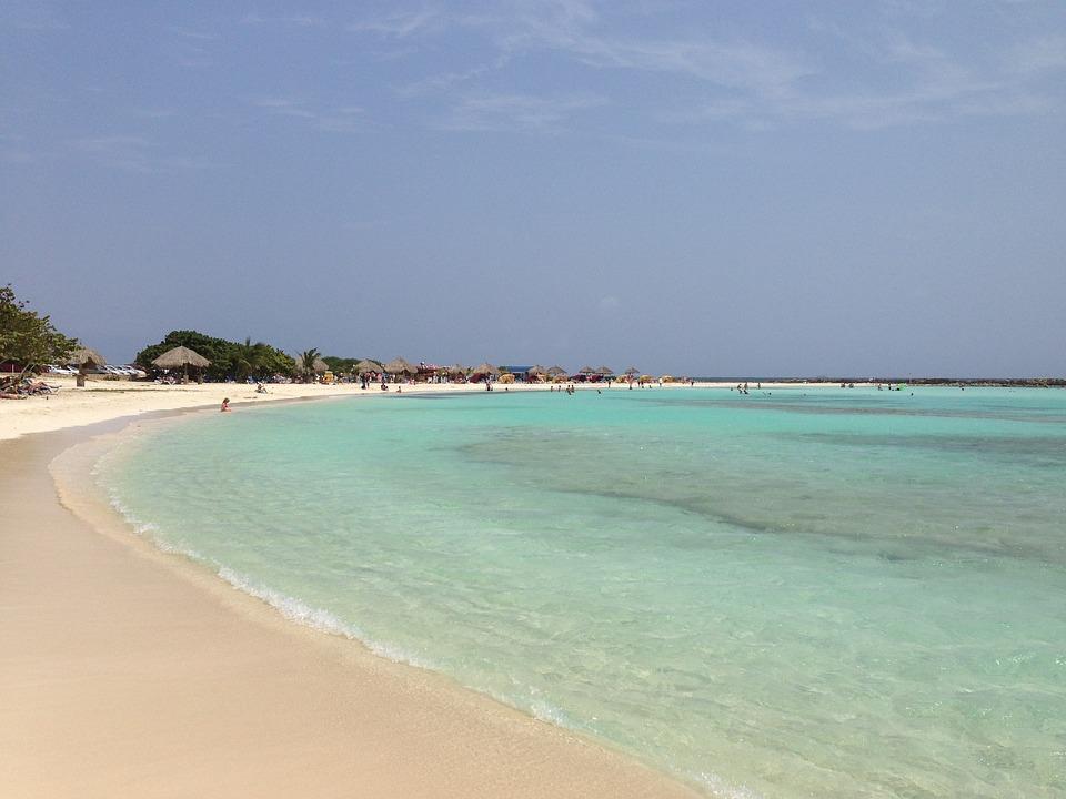 Aruba, Baby Beach, Bay, Island, Caribbean, Sea