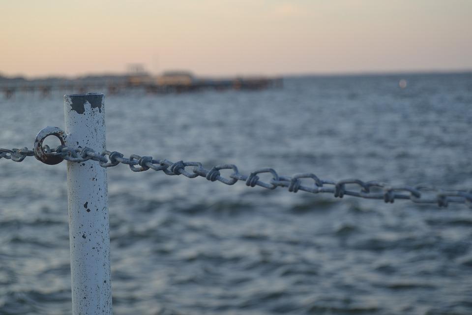 Chain, Barrier, Sea, Baltic Sea, Nature, Landscape