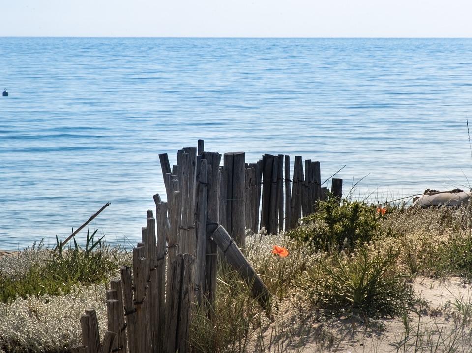 Beach, Bank, Sand, Sea, Ligurian, Saint Tropez, Waves