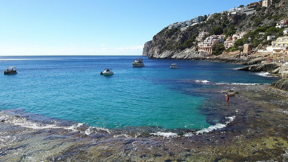 Mallorca, Sea, Summer, Water, Bay, Vacations, Holidays