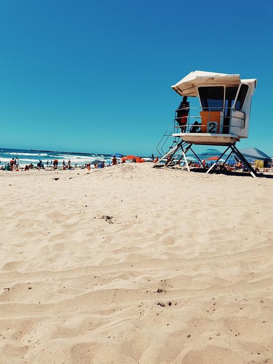 Beach, Sea, Beach Hut