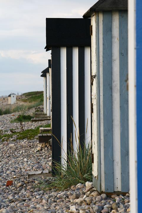 Beach Hut, Beach, Summer, Journey, Sea, Holiday