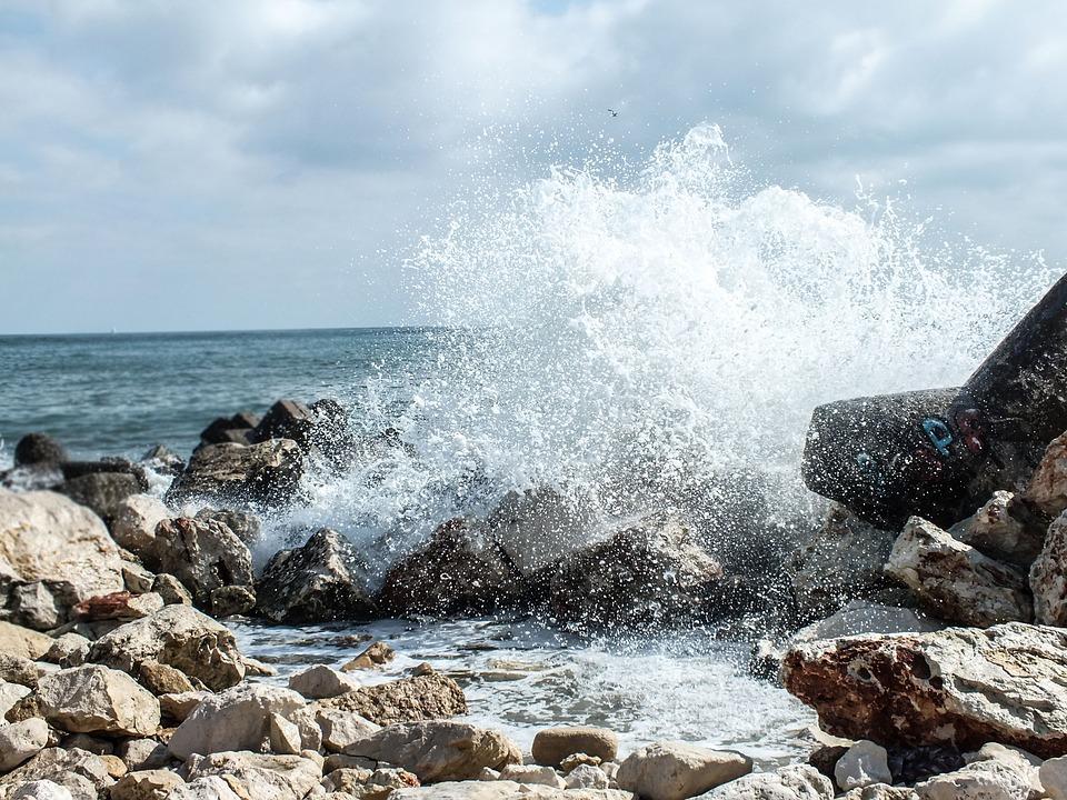 Nature, Blue, Sea, Summer, Landscape, Beach, Wave, Sky